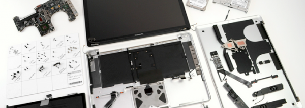 MacBook Pro: comparaison de l'intérieur du modèle Retina et du modèle standard