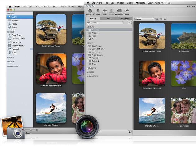 Aperture et iPhoto ont maintenant la même bibliothèque photos