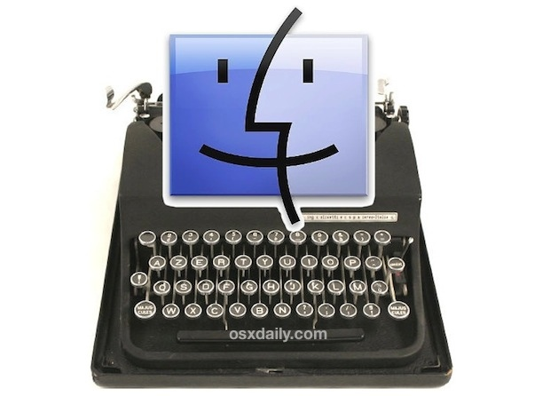 Transformer votre Mac en machine à écrire