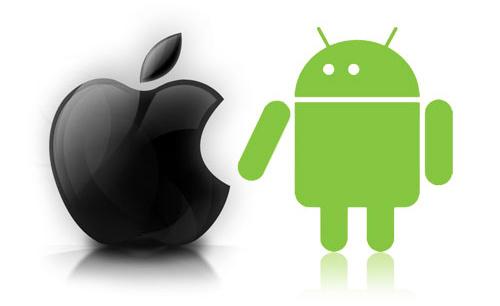 Tim Cook d'Apple et Larry Page de Google discutent des brevets mobiles