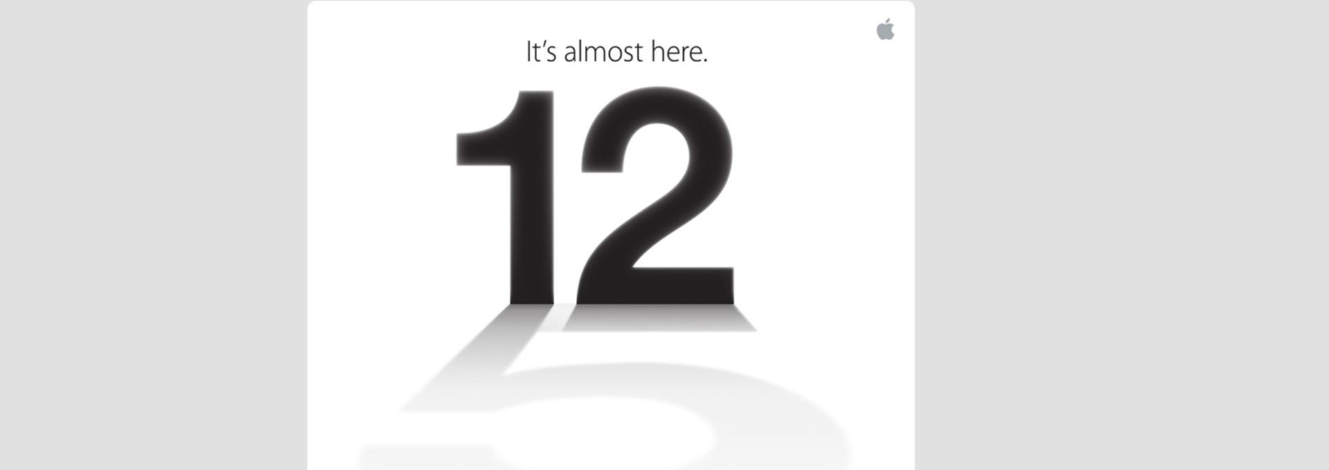 Apple annonce un événement le 12 septembre: iPhone 5 en vue !