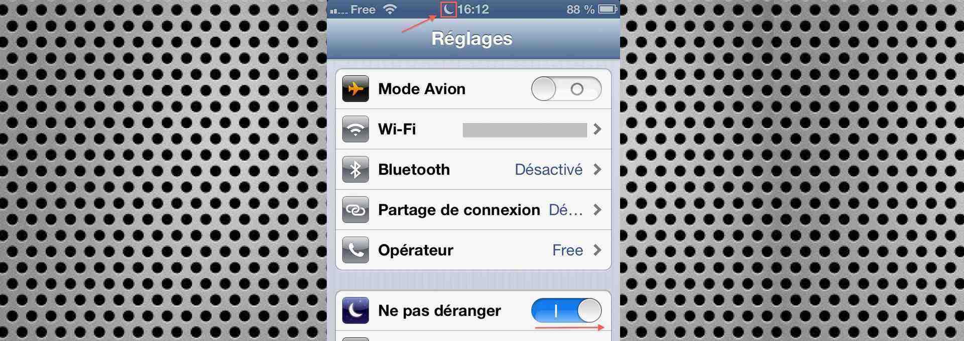 Comment utiliser la fonction «Ne pas déranger» d'iOS 6 ? (iGenius)