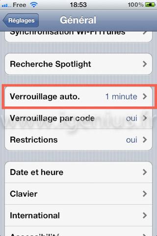 Comment verrouiller automatiquement mon iPhone ? (iGenius)