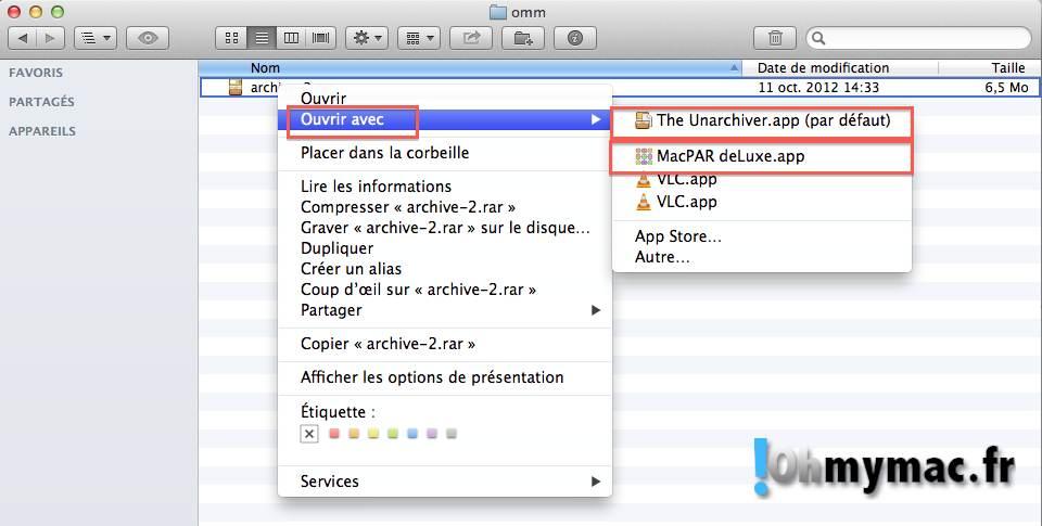 ouvrir fichier rar mac  u2013 ordinateurs et logiciels