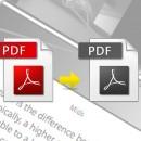 Convertir un PDF couleur en noir et blanc