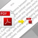 Réduire la taille d'un PDF