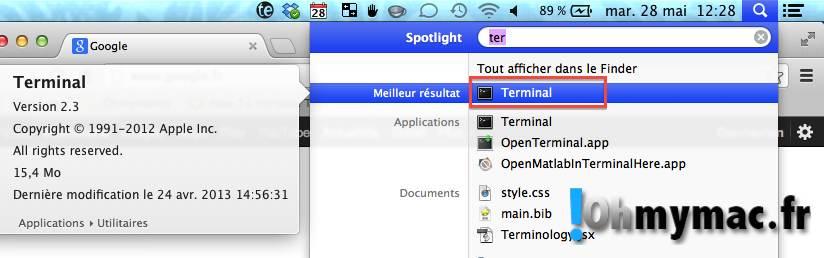 Ohmymac Comment supprimer fichiers et dossiers sans passer par la corbeille sur Mac 01