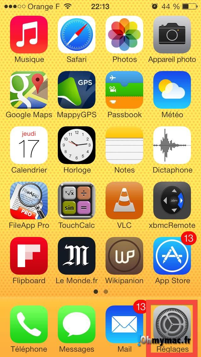 Comment enlever les morceaux iCloud de l'application Musique ? 03