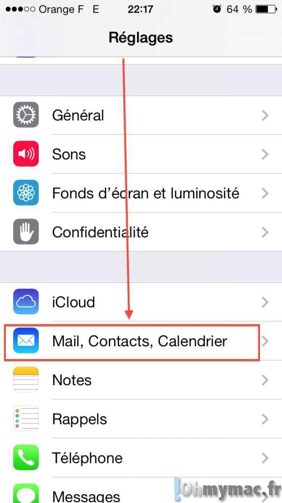 comment afficher les photos des contacts dans les messages sur iphone