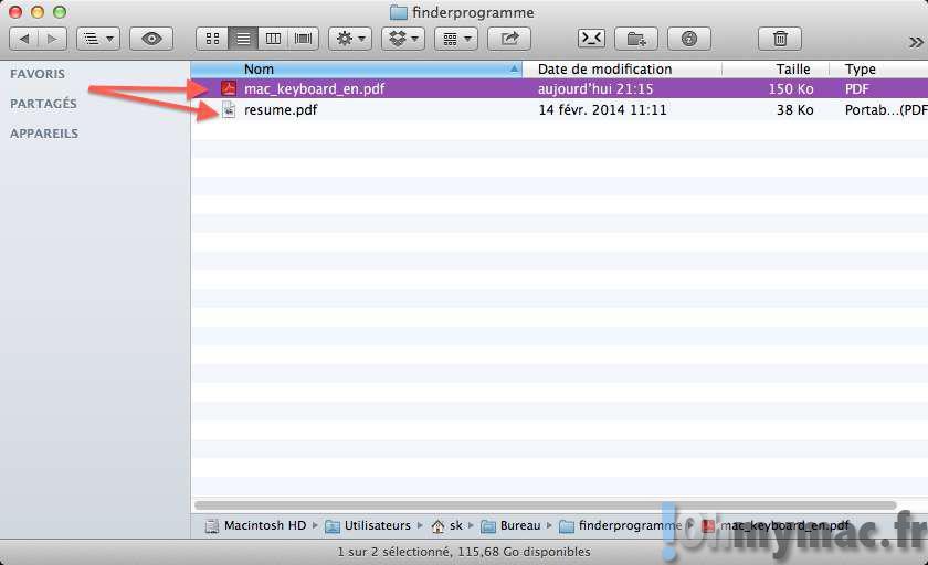 Finder: choisir l'application d'ouverture des fichiers par défaut