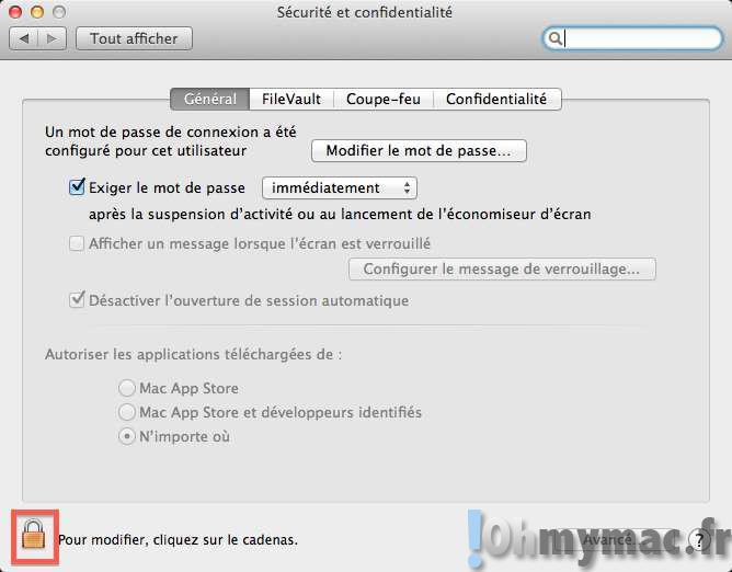 Comment afficher un message sur l 39 cran de d marrage du for Mac fenetre hors ecran