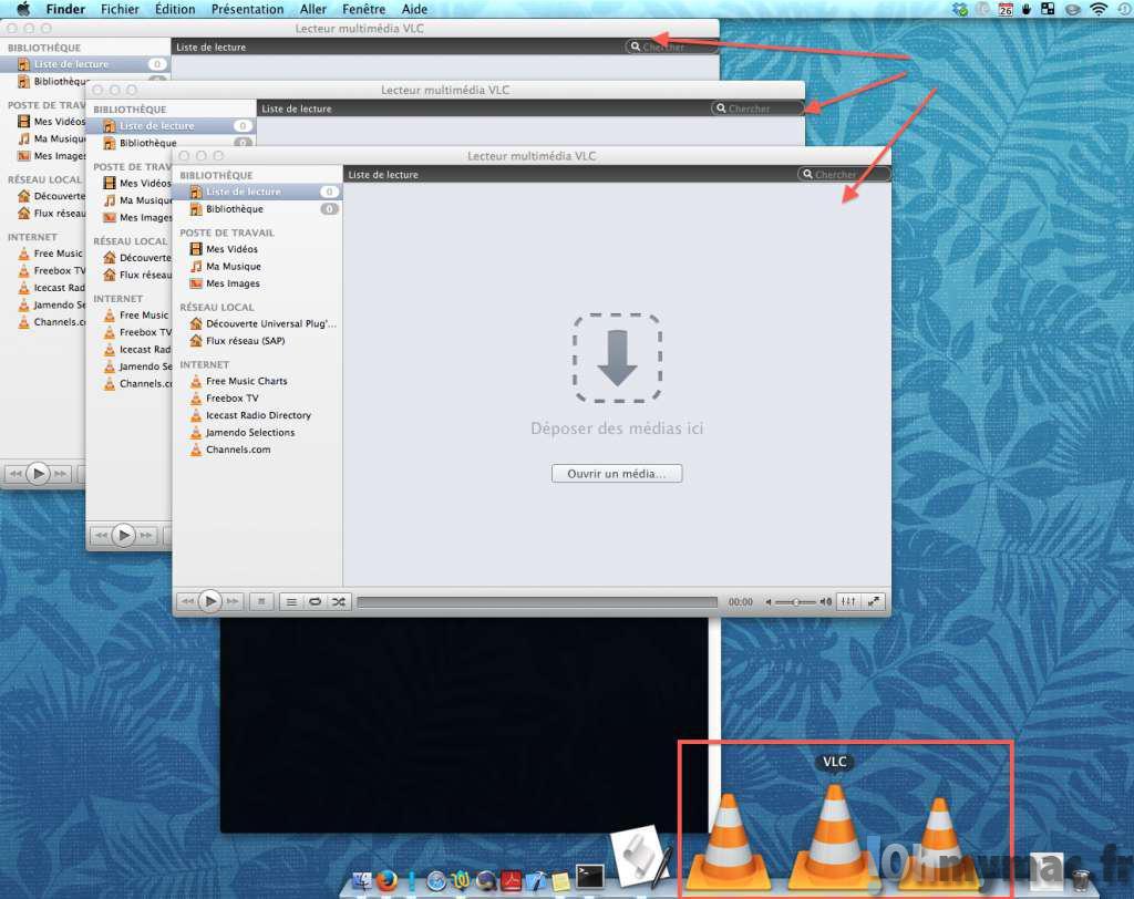 VLC: comment ouvrir plusieurs vidéos à la fois (multiples instances de VLC) sur son Mac ?