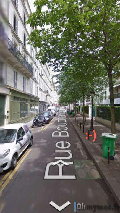 Google Maps iOS: accéder à la vue Street View sur iPhone ou iPad