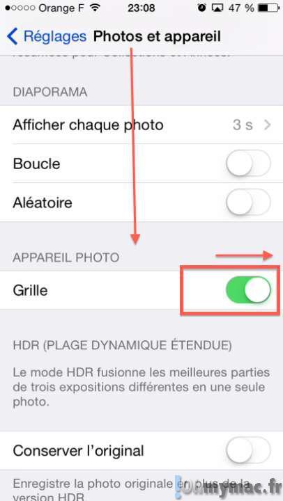 Améliorer vos photos en utilisant la grille de composition photo de l'iPhone ou de l'iPad
