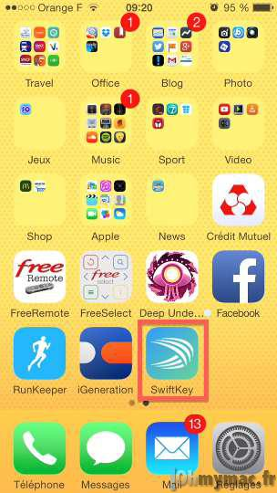 iOS 8: ajouter et utiliser un clavier alternatif non Apple sur iPhone et iPad