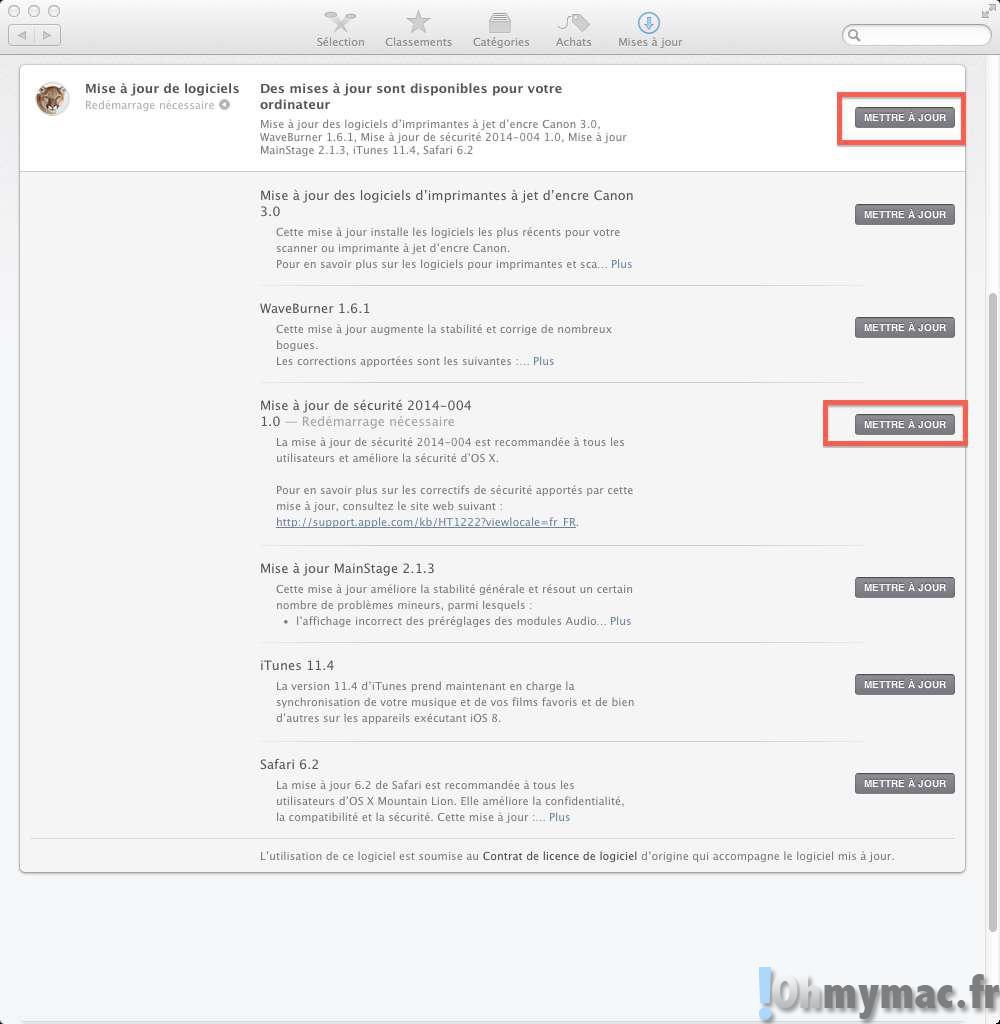 Faille de sécurité: mettez à jour votre Mac contre Shellshock