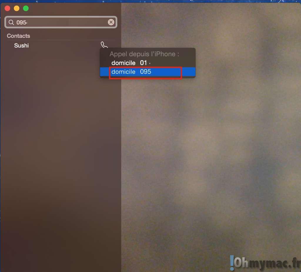 iOS 8 et OS X Yosemite: passer et recevoir des appels téléphoniques depuis votre Mac ou votre iPad