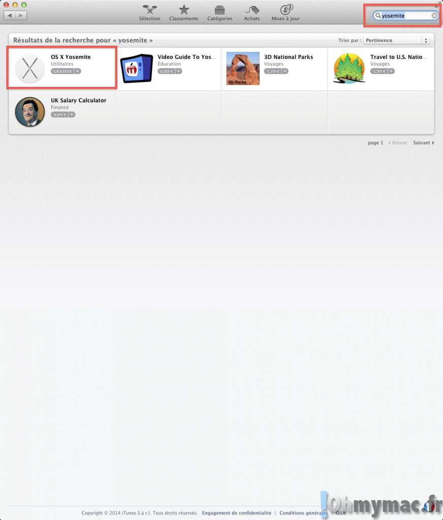 OS X Yosemite: Pas à Pas Pour Faire Une Installation