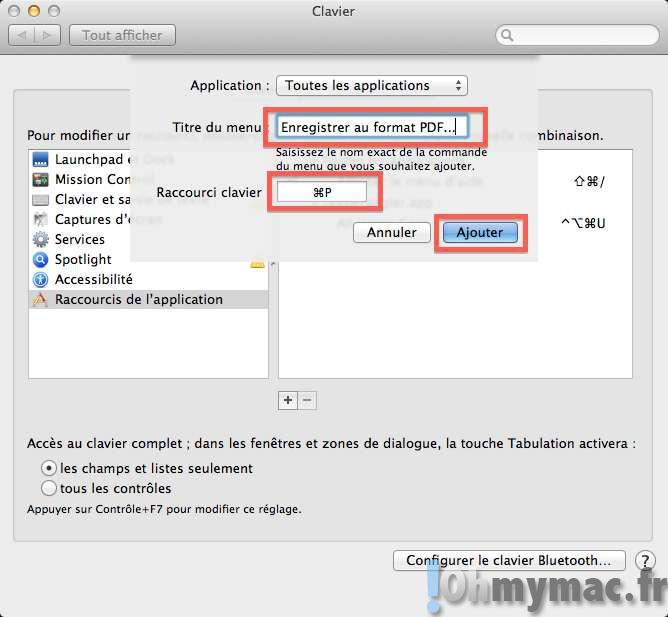transformer un document jpeg en pdf sur mac