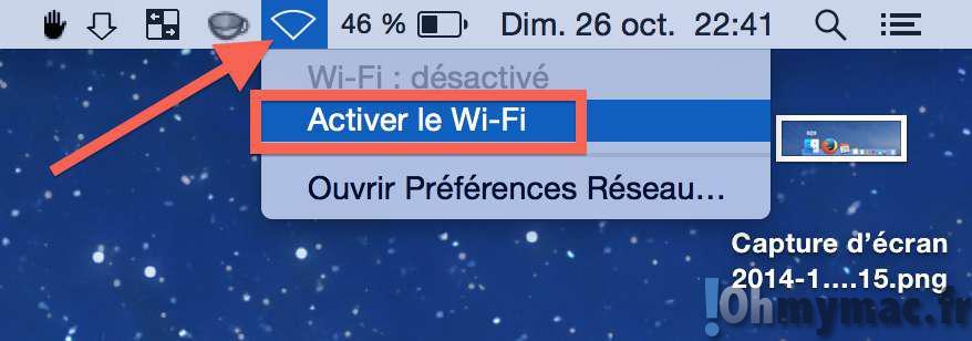OS X Yosemite: corriger les problèmes de connexion WiFi
