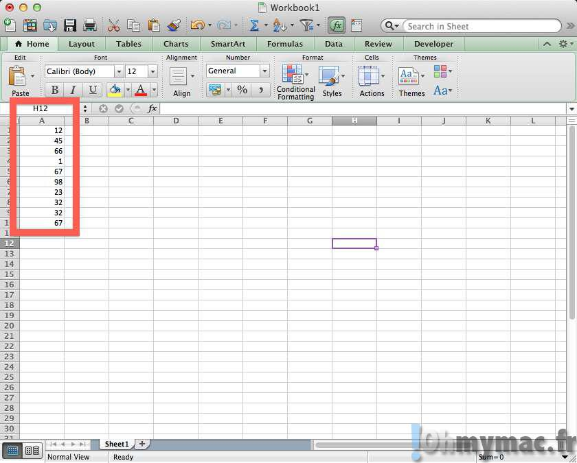 Excel Mac Transposer Des Colonnes En Lignes Et Inversement Ohmymac
