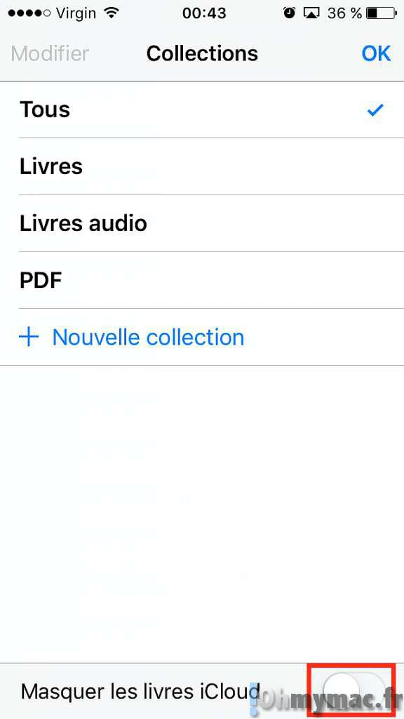 cacher livre ibooks: Supprimer ou masquer les livres iBooks sur Mac et iPhone/iPad