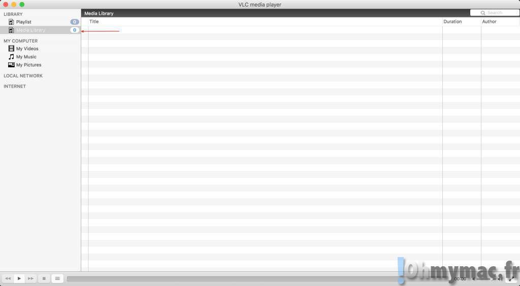VLC répertoire vidéos: Créer un répertoire video/media avec VLC Mac