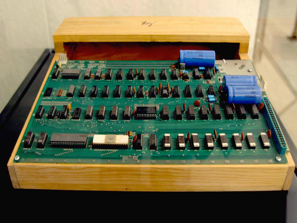 Apple I vendu aux enchères: une once de l'histoire informatique pour 120 000$… ou plus !