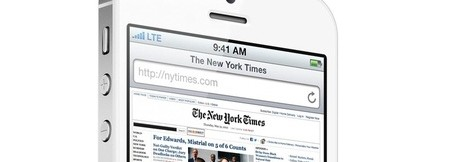 """Nouvelles images """"artistiques"""" de l'iPhone 5 et d'iOS 6"""