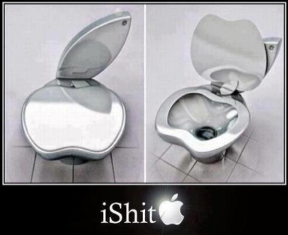 Humour: le petit coin de paradis d'Apple