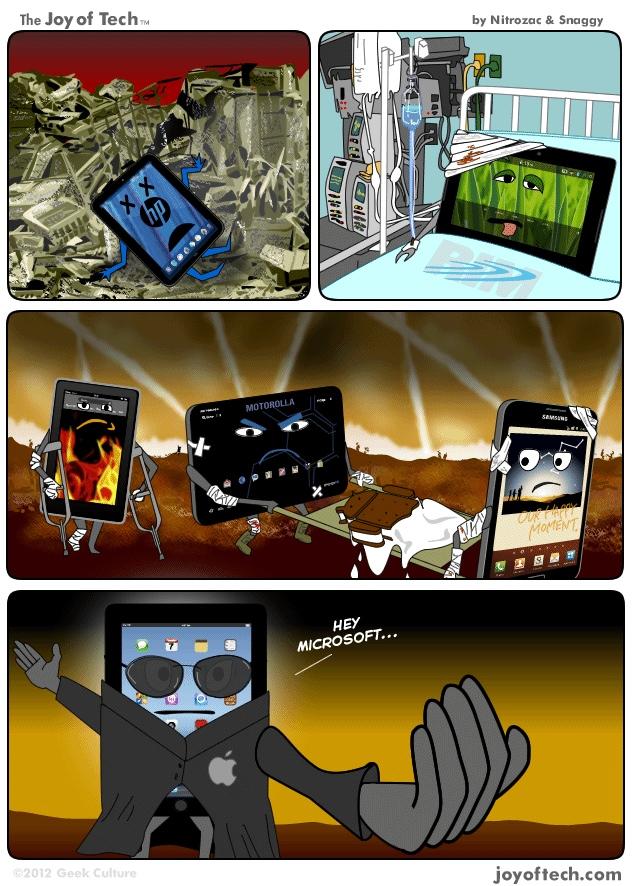 Humour: bonne chance avec cette tablette Microsoft
