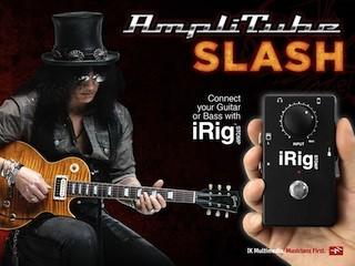 IK Multimedia annonce AmpliTube Slash pour iOS et Mac: à vos guitares !