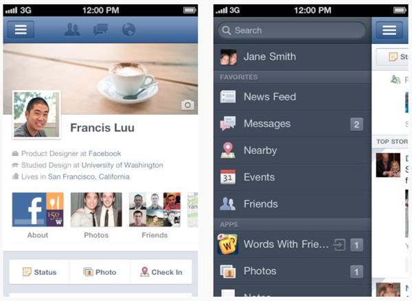 Une nouvelle version de Facebook pour iOS le mois prochain ?