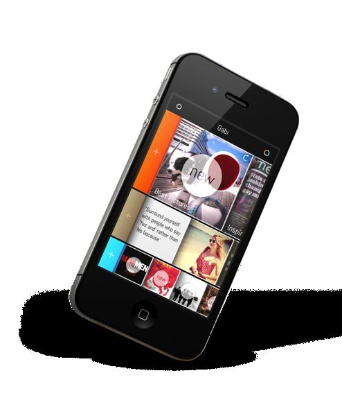 Gabi: une toute nouvelle façon d'utiliser Facebook sur son iPhone