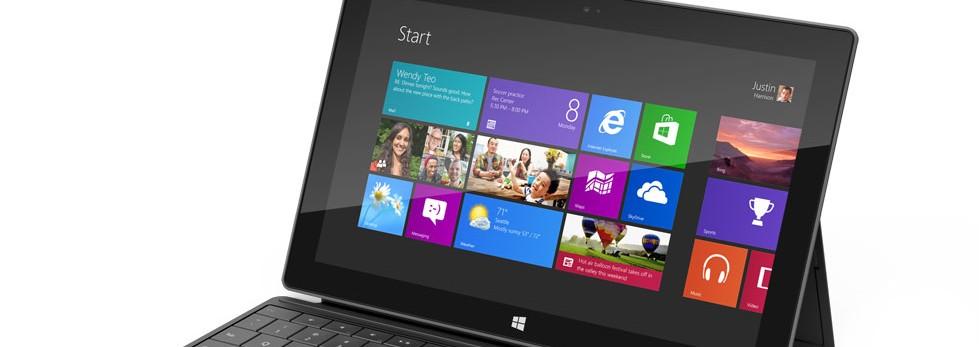 Microsoft dévoile Surface, une ligne de tablettes ultra fines