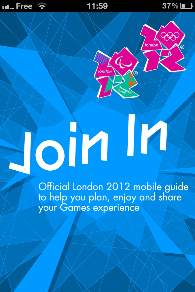 L'application officielle J.O. de Londres 2012 est sortie