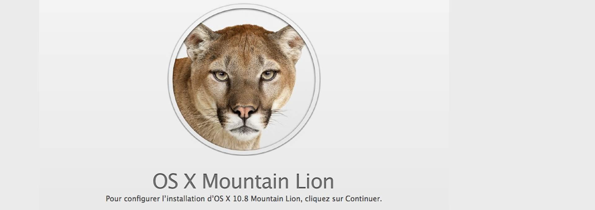 Mountain Lion: Pas à pas pour faire une installation propre (Clean Install)