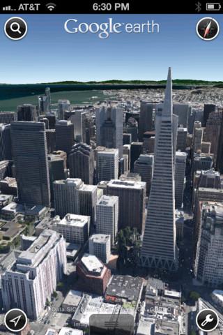 Google Earth: une mise à jour apporte les cartes 3D sur iOS [Mis à jour]