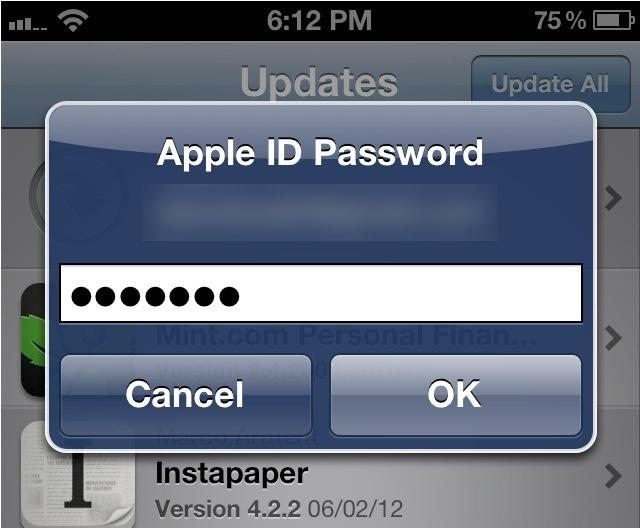 iOS 6: plus besoin de mots de passe pour télécharger les applications gratuites