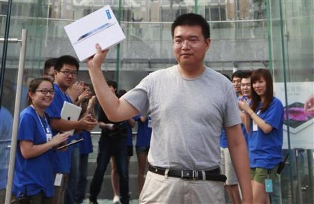 Pas de troubles lors du lancement du nouvel iPad en Chine