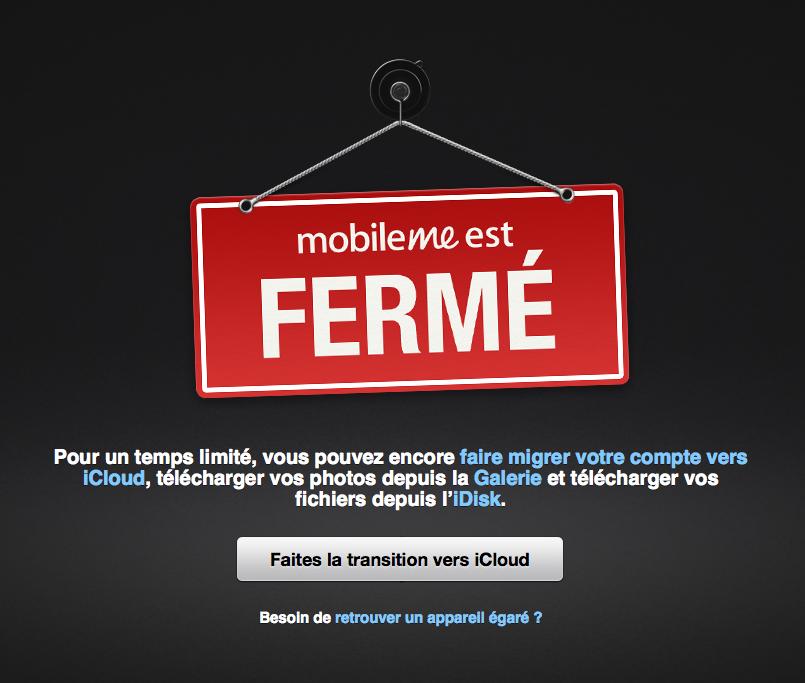 MobileMe et le Minitel: deux services qui s'arrêtent définitivement