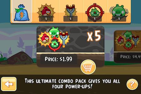 Mise à jour d'Angry Birds avec de nouveaux niveaux et pouvoirs