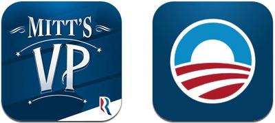 Barack Obama et Mitt Romney: deux applications pour un poste de président