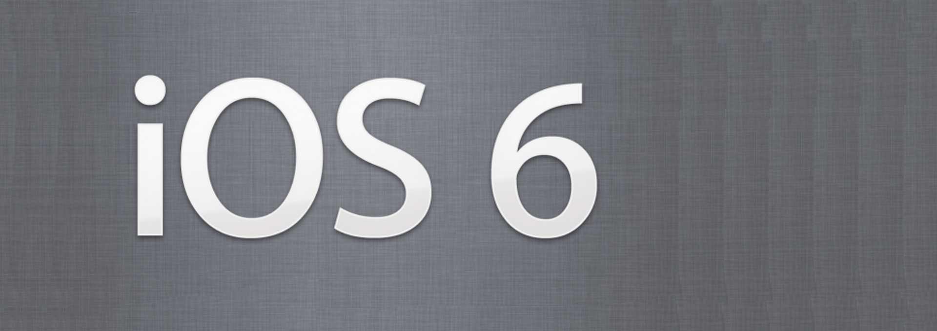 Nouveautés d'iOS 6 Beta 4: nouvelles cartes 3D et absence de YouTube
