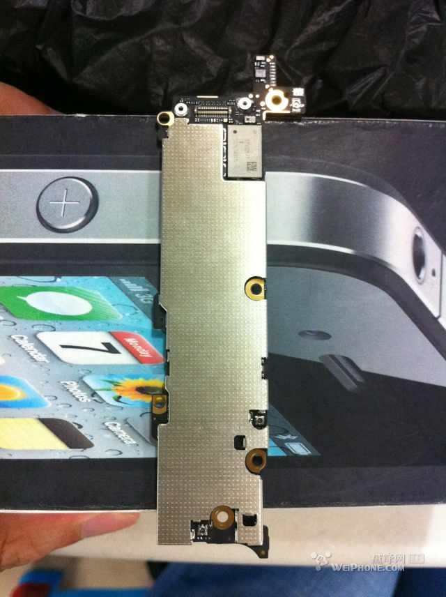 Des photos supposées de la carte de mère de l'iPhone 5