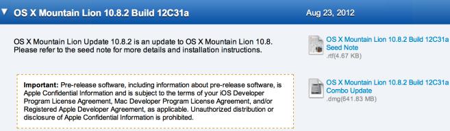 OS X 10.8.2: arrivée de Facebook et amélioration d'iMessage