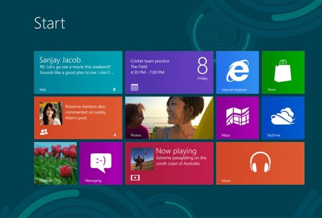 Windows 8 enverrait à Microsoft des informations sur tous les programmes installés