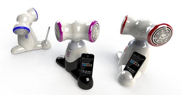 Shimi Tovbot: le dock pour iPhone et iPod qui est un robot