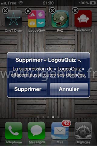 Comment supprimer une application de son iPhone ? (iGenius)