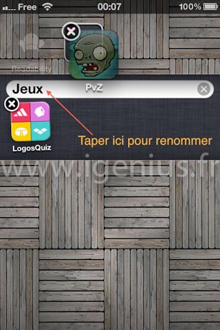 Comment organiser les applications par dossiers ou groupes sur son iPhone ? (iGenius)